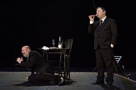 Na fotografiji: Jernej Šugman in Bojan Emeršič Foto: Peter Uhan