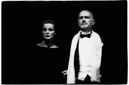 Na fotografiji: Zvezdana Mlakar in Boris Juh Foto: Tone Stojko
