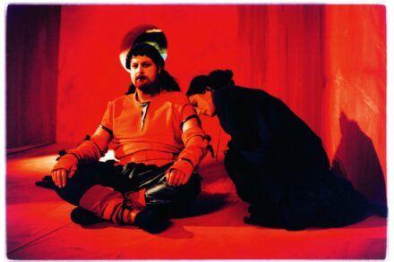Na fotografiji: Jernej Šugman in Nataša Barbara Gračner Foto: Peter Uhan