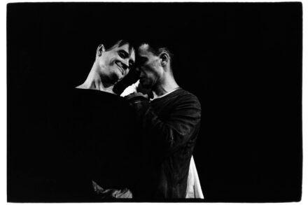 Na fotografiji: Branko Šturbej in Igor Samobor Foto: Tone Stojko