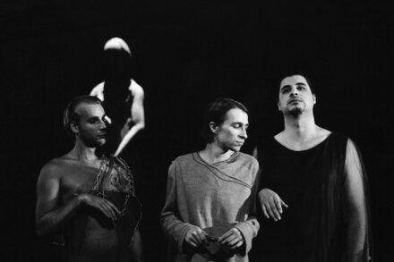 Na fotografiji: Boris Kos, Aljoša Koltak in Tarek Rashid Foto: Peter Uhan