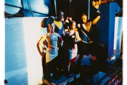 Na fotografiji: Uroš Fürst, Tanja Ostojić, Tomaž Gubenšek, Saša Mihelčič, Marko Mandić in Matjaž Tribušon Foto: Peter Uhan