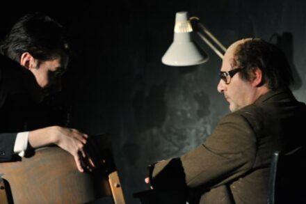 Na fotografiji: Saša Tabaković in Bojan Emeršič Foto: Peter Uhan