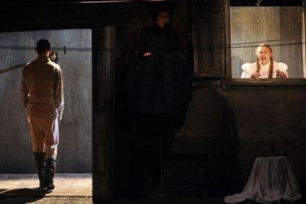 Na fotografiji: Marko Mandić, Marijana Brecelj in Maja Končar Foto: Peter Uhan