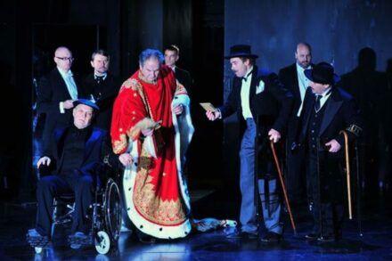 Na fotografiji: Boris Mihalj, Kristijan Muck, Zvone Hribar, Ivo Ban, Igor Samobor, Janez Škof, Jernej Šugman in Bojan Emeršič Foto: Peter Uhan