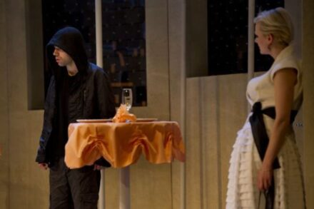 Na fotografiji: Vito Weis in Polona Juh Foto: Žiga Koritnik