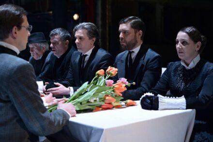 Na fotografiji: Aljaž Jovanović, Marko Okorn, Valter Dragan, Vladimir Vlaškalić, Kristijan Ostanek in Barbara Žefran Foto: Peter Uhan