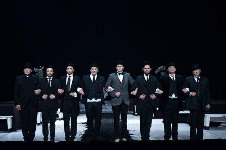 Na fotografiji: Aleš Valič, Nejc Ropret, Matija Stipanič, Vladimir Vlaškalić, Aljaž Jovanović, Kristijan Ostanek, Valter Dragan in Marko Okorn Foto: Peter Uhan