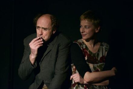 Na fotografiji: Janez Škof in Barbara Cerar Foto: Peter Uhan