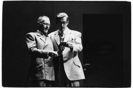 Na fotografiji: Boris Juh in Gregor Geč Foto: Tone Stojko