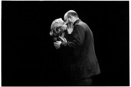 Na fotografiji: Milena Zupančič in Jernej Šugman Foto: Peter Uhan
