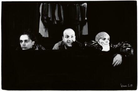 Na fotografiji: Petra Govc, Jernej Šugman in Bojan Emeršič Foto: Tone Stojko