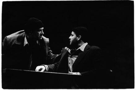 Na fotografiji: Ivo Ban in Jernej Šugman Foto: Tone Stojko