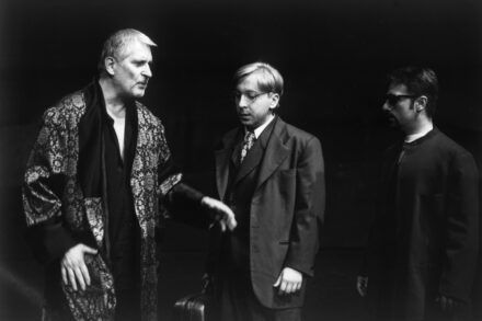Na fotografiji: Boris Cavazza, Gregor Baković in Bojan Emeršič Foto: Tone Stojko