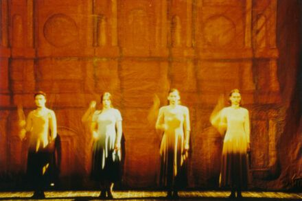 Na fotografiji: Mateja Rebolj, Janja Majzelj, Sanja Nešković in Petra Govc Foto: Arhiv DLj