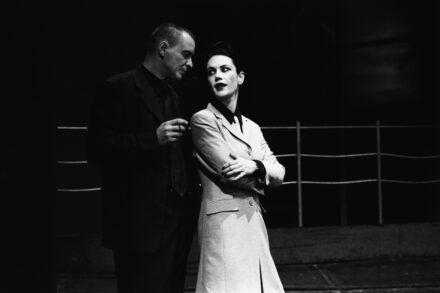 Na fotografiji: Igor Samobor in Maja Sever Foto: Peter Uhan
