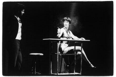 Na fotografiji: Jernej Šugman in Saša Pavček Foto: Simon Stojko Falk