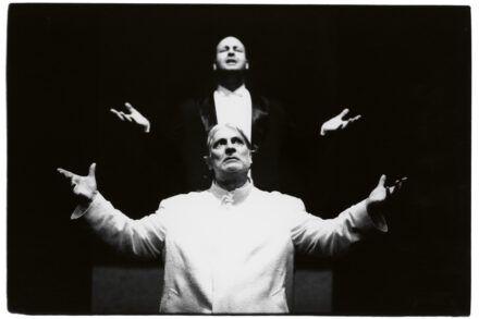 Na fotografiji: Jernej Šugman in Boris Cavazza Foto: Tone Stojko