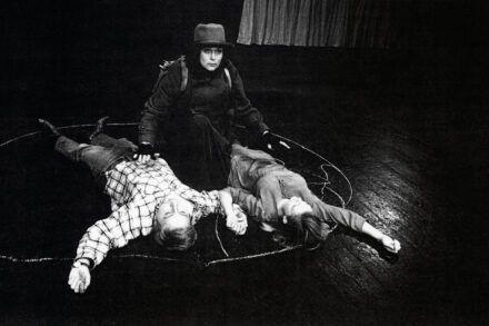 Na fotografiji: Gregor Baković, Marijana Brecelj in Polona Juh Foto: Tone Stojko