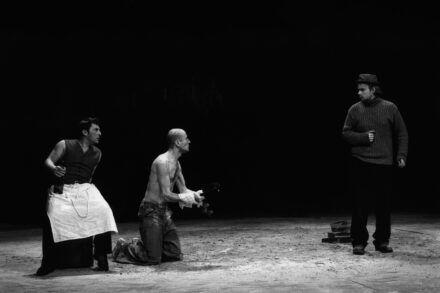 Na fotografiji: Bojan Emeršič, Boris Ostan in Gregor Zorc Foto: Peter Uhan
