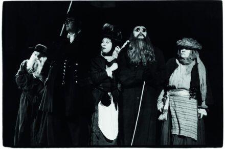 Na fotografiji: Kristijan Muck, Matija Rozman, Mojca Ribič, Bogomir Veras in Katja Levstik Foto: Tone Stojko