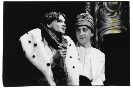 Na fotografiji: Branko Šturbej in Gregor Baković Foto: Peter Uhan