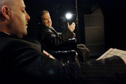 Na fotografiji: Jernej Šugman in Ivo Ban Foto: Peter Uhan