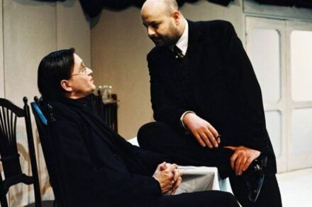 Na fotografiji: Branko Šturbej in Jernej Šugman Foto: Peter Uhan
