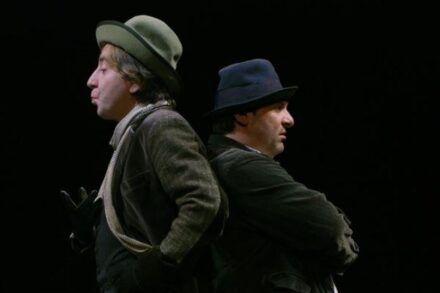 Na fotografiji: Gregor Baković in Bojan Emeršič Foto: Peter Uhan