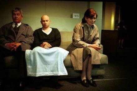 Na fotografiji: Marko Okorn, Boris Mihalj in Alenka Vipotnik Foto: Tone Stojko