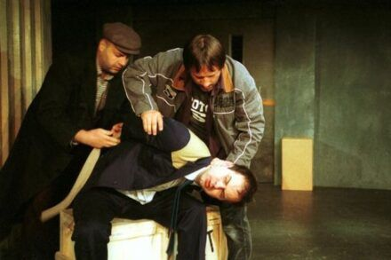 Na fotografiji: Jernej Šugman, Bojan Emeršič in Uroš Fürst Foto: Tone Stojko
