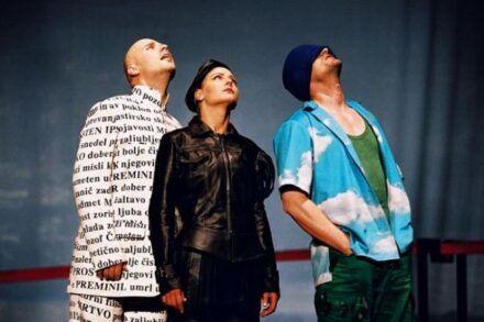 Na fotografiji: Gregor Geč, Polona Juh in Vladimir Vlaškalić Foto: Peter Uhan