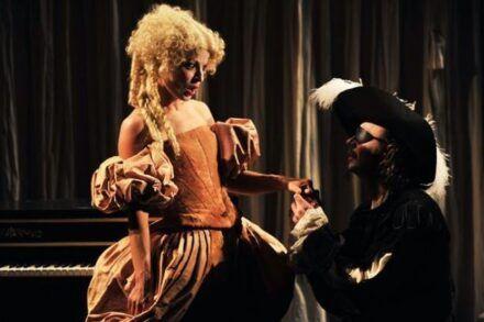 Na fotografiji: Maša Derganc in Matija Rozman Foto: Peter Uhan