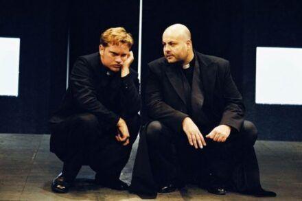 Na fotografiji: Jurij Zrnec in Jernej Šugman Foto: Peter Uhan