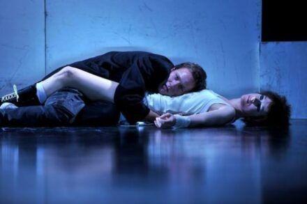 Na fotografiji: Klemen Slakonja in Barbara Cerar Foto: Peter Uhan