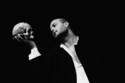 Shakespeare: Hamlet. 1994/95 / Na fotografiji: Jernej Šugman Foto: Tone Stojko