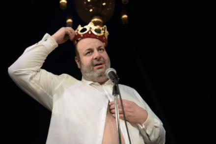Po Kralju Ubuju Alfreda Jarryja: Kralj Ubu. 2015/16 / Na fotografiji: Jernej Šugman Foto: Peter Uhan