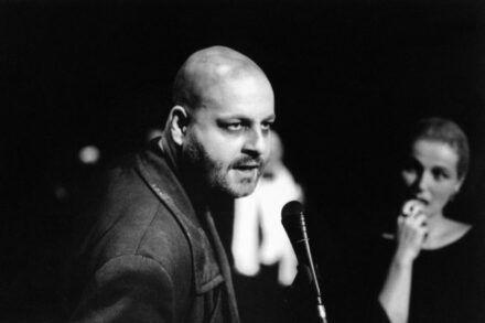 Brecht: Baal. 1998/99 / Na fotografiji: Jernej Šugman in Zvezdana Mlakar Foto: Tone Stojko