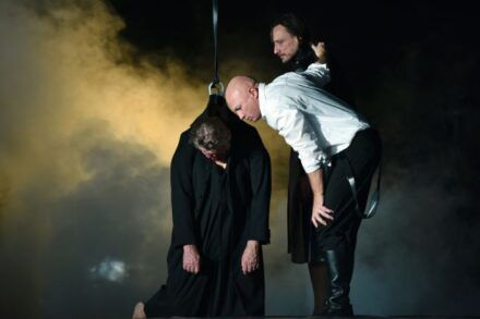 Na fotografiji: Zvone Hribar, Boris Mihalj in Marko Mandić Foto: Peter Uhan