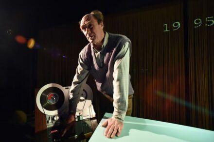 Jan Krmelj: Življenje drugih / Na fotografiji: Janez Škof Foto: Peter Uhan