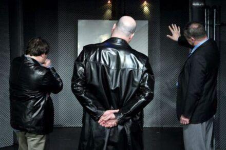 Na fotografiji: Bojan Emeršič, Jernej Šugman in Aleš Valič Foto: Peter Uhan