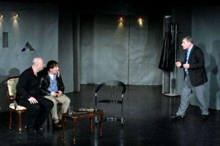 Na fotografiji: Jernej Šugman, Bojan Emeršič in Aleš Valič Foto: Peter Uhan