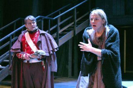 Na fotografiji: Zvone Hribar in Barbara Cerar Foto: Peter Uhan