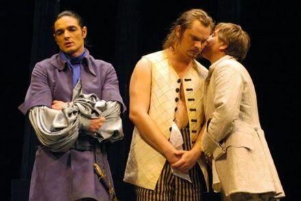 Na fotografiji: Gorazd Logar, Jurij Zrnec in Gregor Baković Foto: Peter Uhan