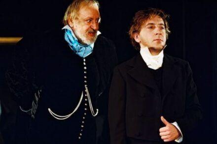 Na fotografiji: Dare Valič in Gregor Baković Foto: Peter Uhan